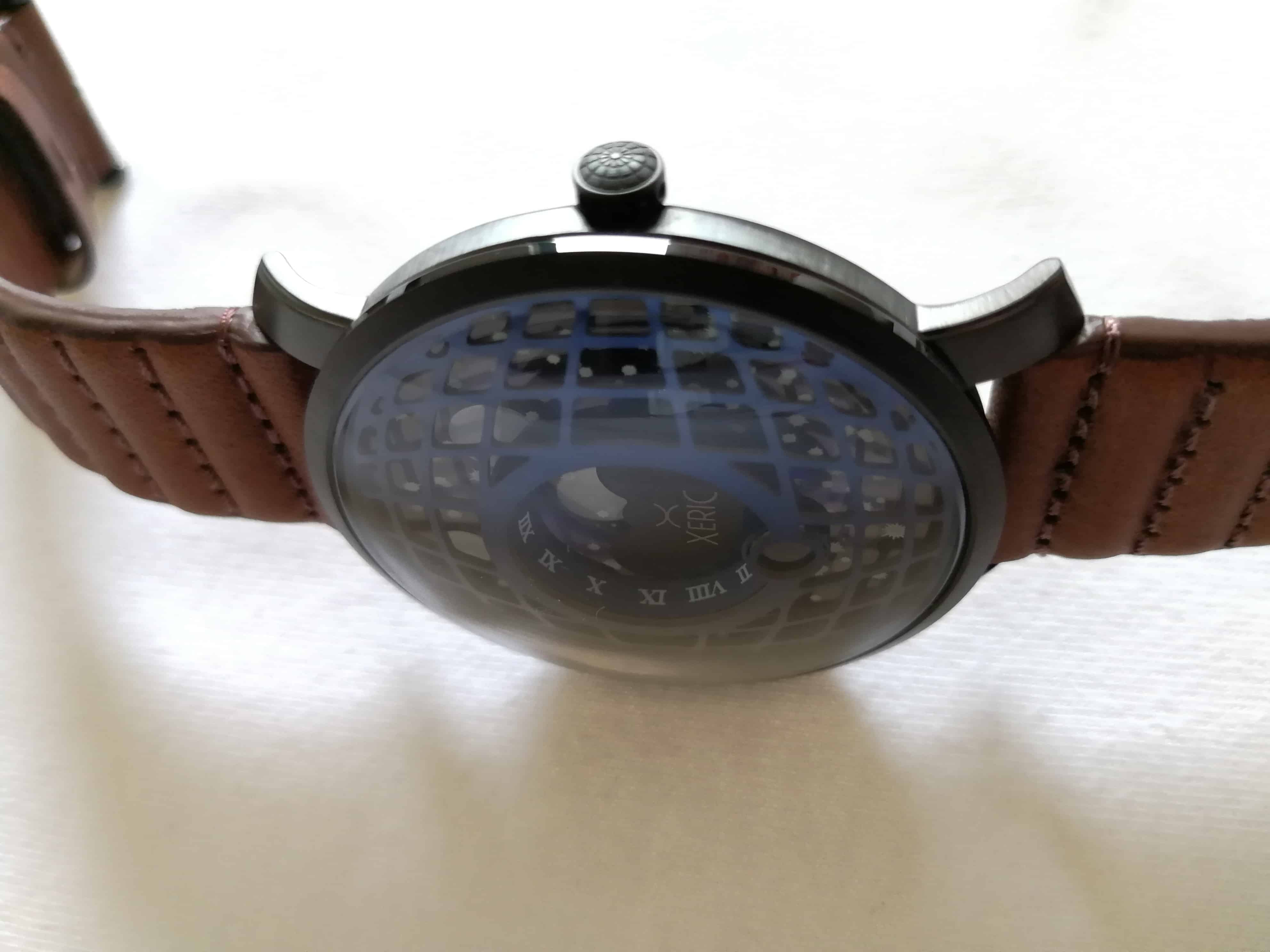 Xeric Trappist-1 Moonphase domed face