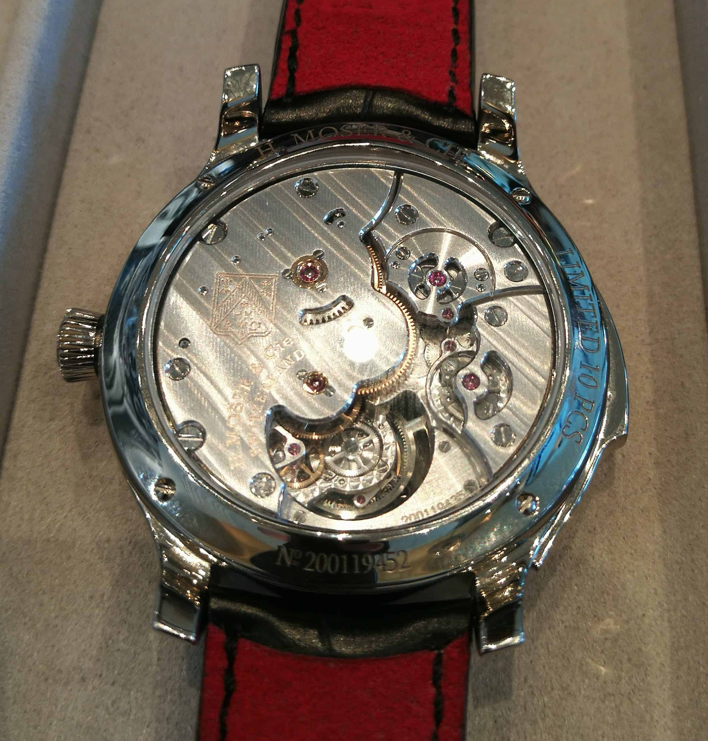 Endeavour Concept Minute Repeater Tourbillon case back