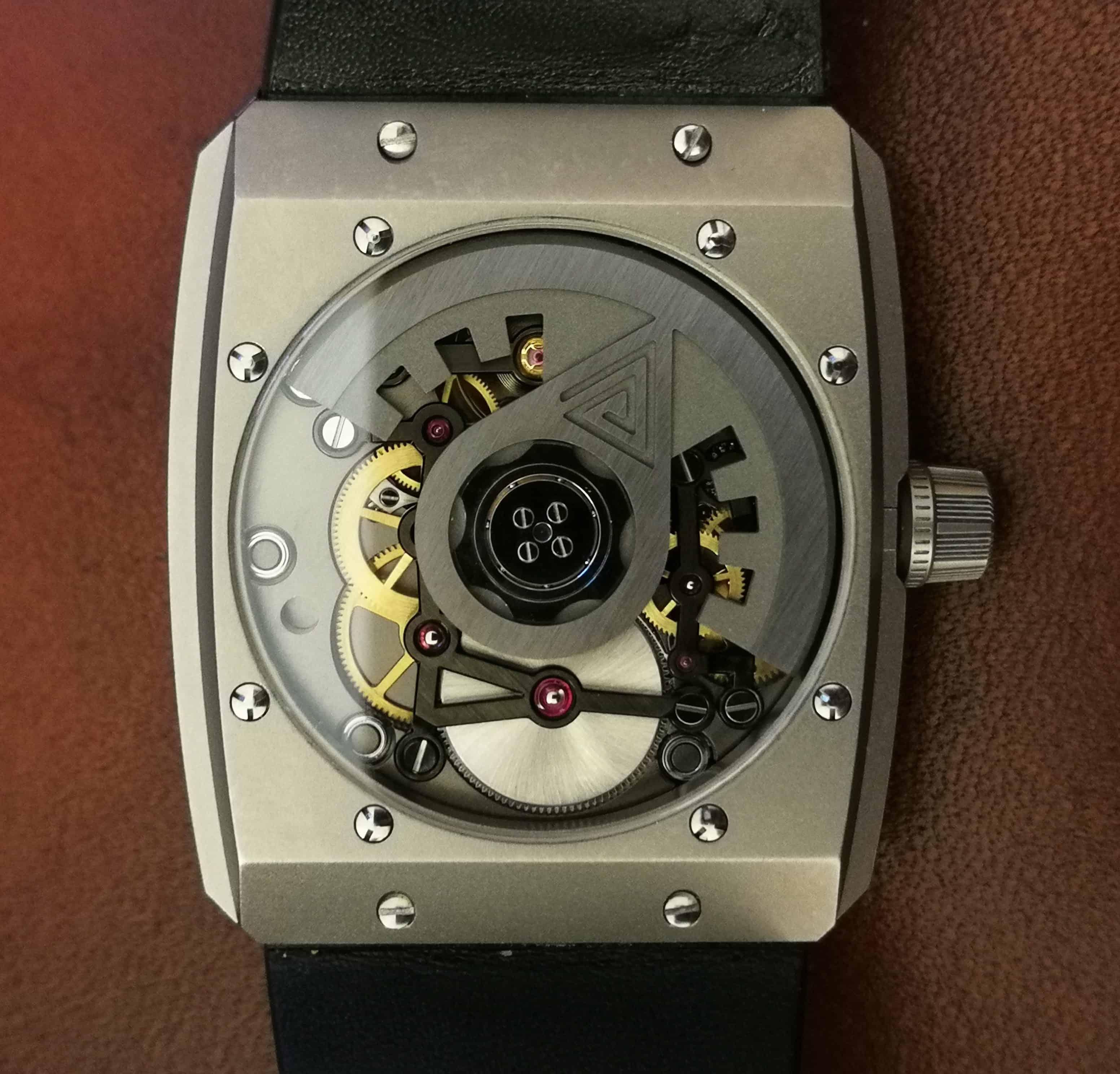 Vault V1+ Case Back