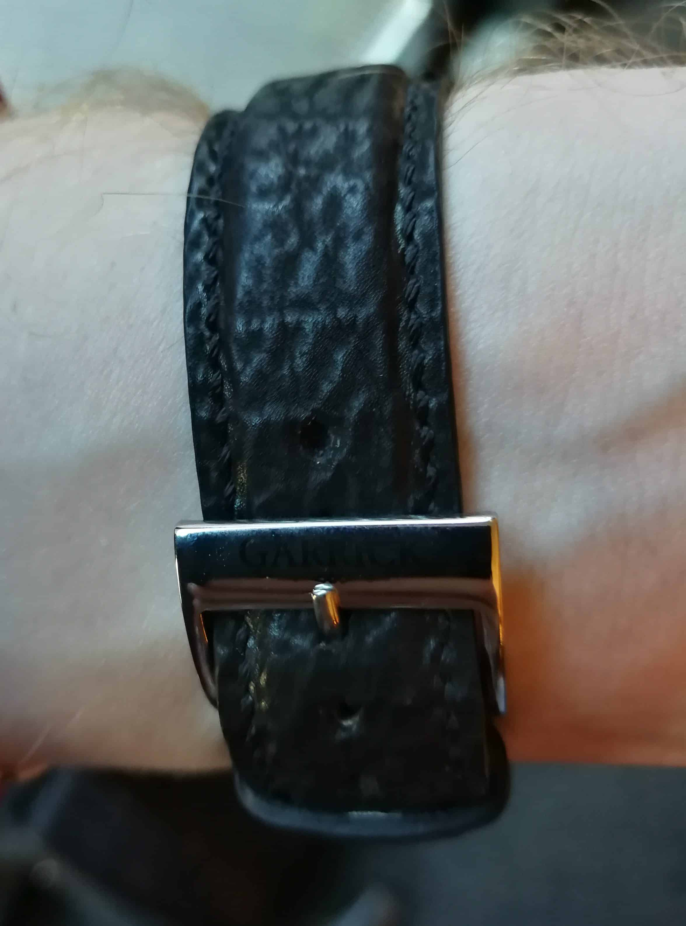 Garrick England S2 strap and buckle