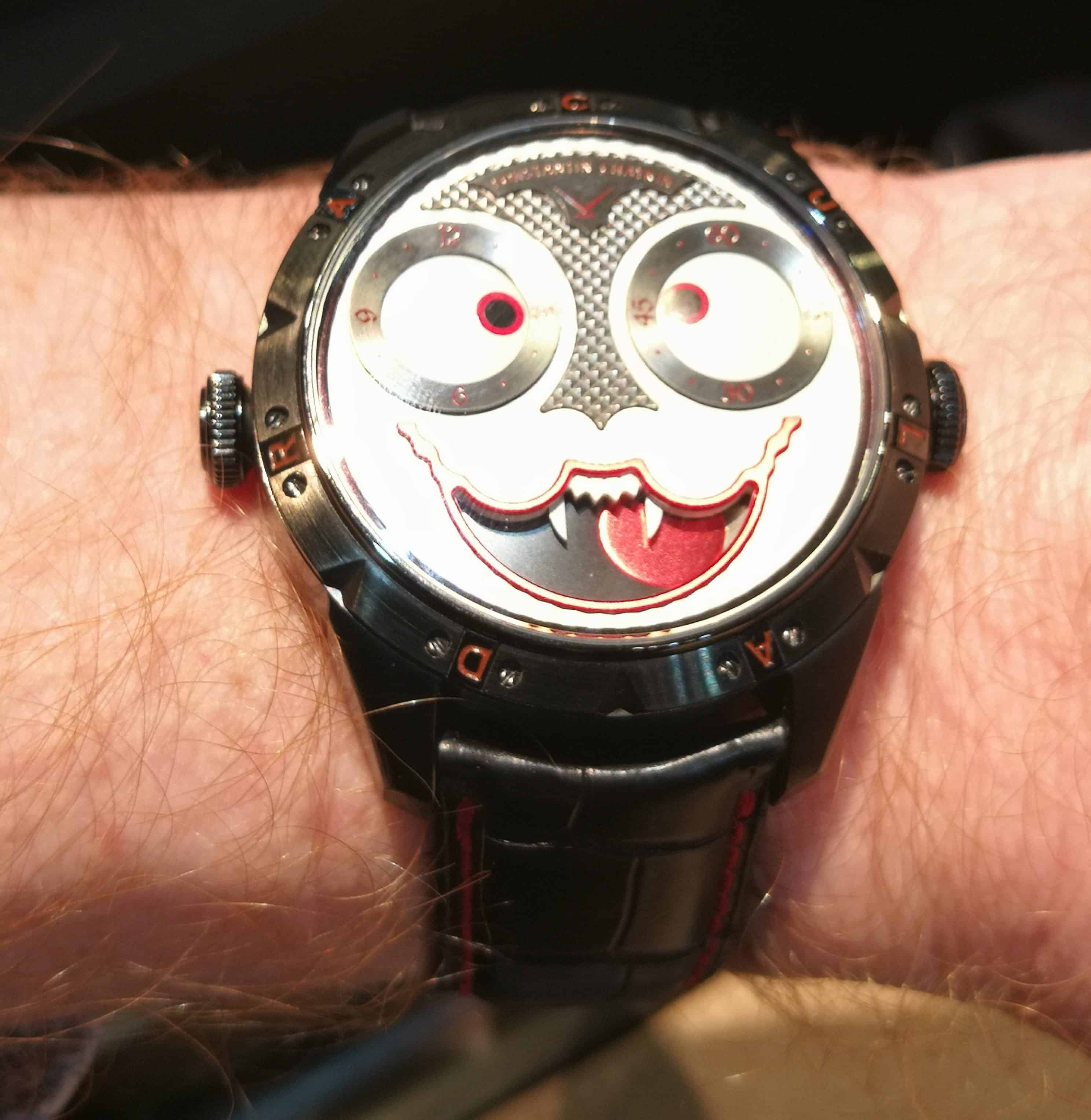 Konstantin Chaykin Joker Dracula on the Wrist