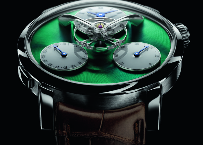 MB&F Legacy Machine Split Escapement Titanium Edition