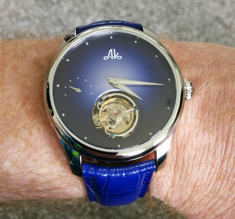 Astbury & Kent Stellaris Flying Tourbillon on the Wrist