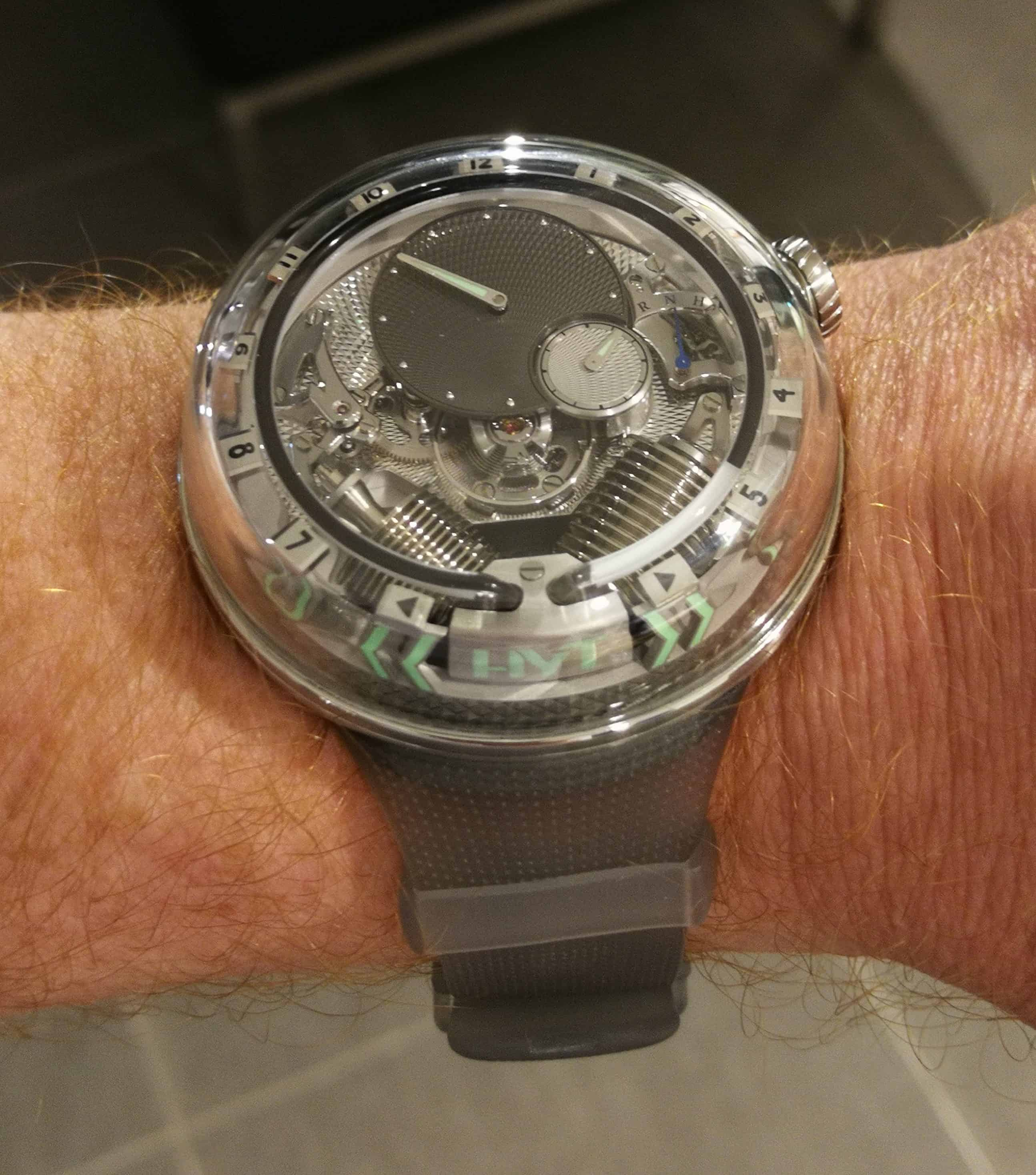 HYT H2O Time is Fluid on the Wrist