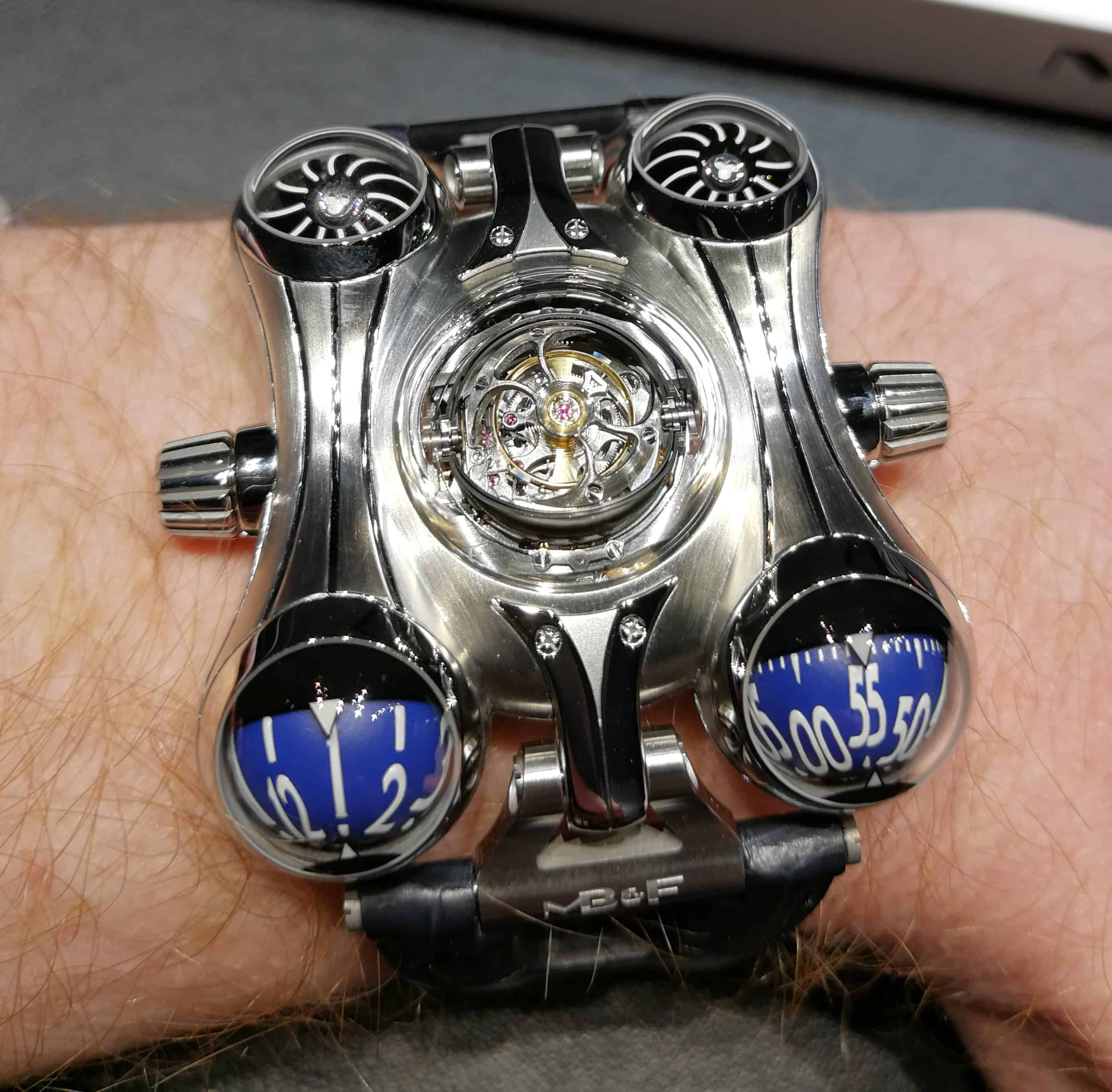 MB&F HM6 Final Edition on the Wrist