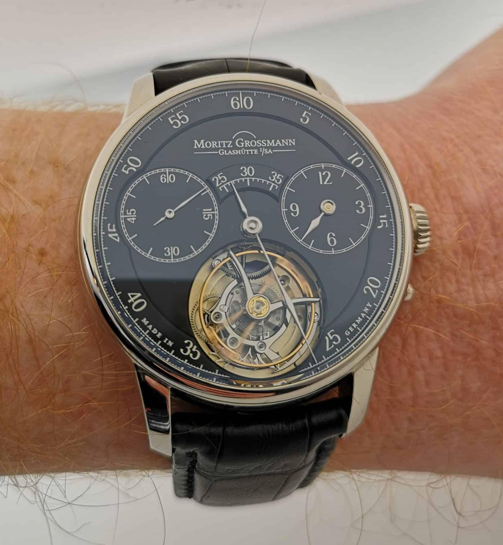 Moritz Grossmann Benu Tourbillon on the Wrist