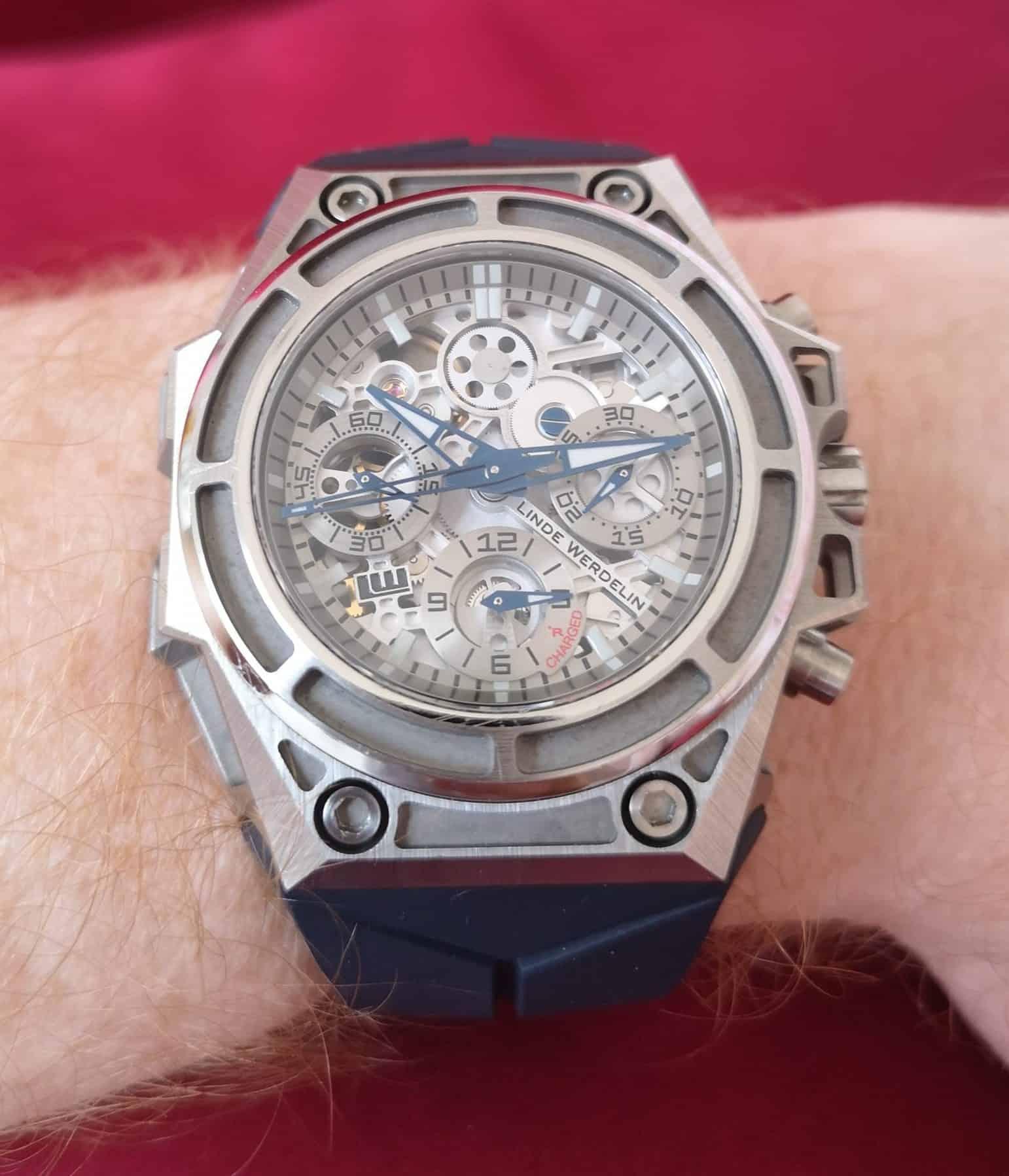 Linde Werdelin SpidoSpeed Titanium 3D on the Wrist